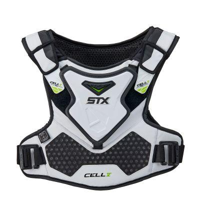 Cell V Shoulder Pad Liner White Front