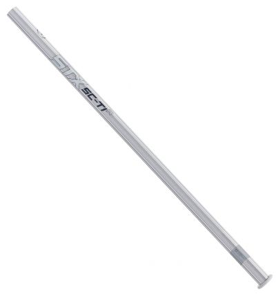 STX ScTi alloy lacrosse handle R profile platinum