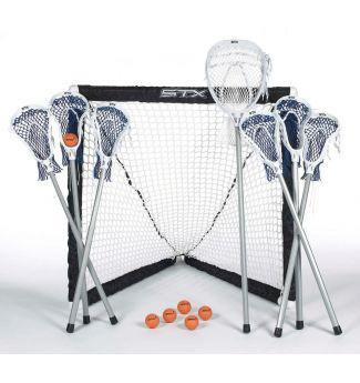 STX Lacrosse FiddleSTX Game Set - 7 Sticks with Plastic Handle