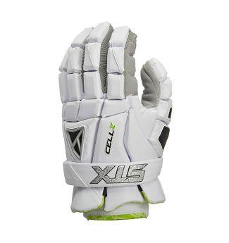 Cell V Gloves Front White