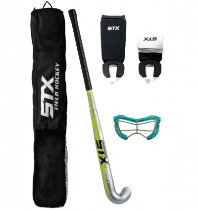 STX Field Hockey Junior Starter Pack with 2 See-S Dual Sport Goggles