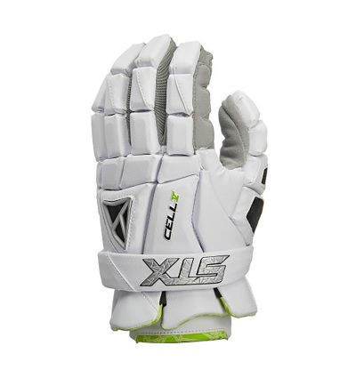 Cell V Gloves Front White