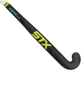 STX HPR 701 Field Hockey Stick, Black Yellow and Teal, Outside View