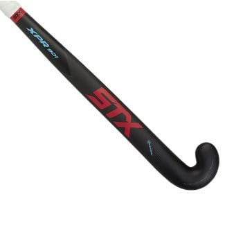 STX XPR 901 Field Hockey Stick, Black Red and Blue, Outside View
