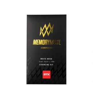 STX Lacrosse Memory Mesh 10D Complete Kit