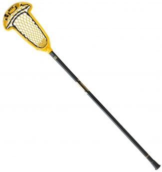 stx axxis women's lacrosse draw stick yellow