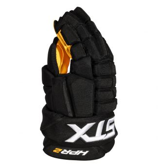 Stallion HPR 2 Ice Hockey Glove - Yellow Palm