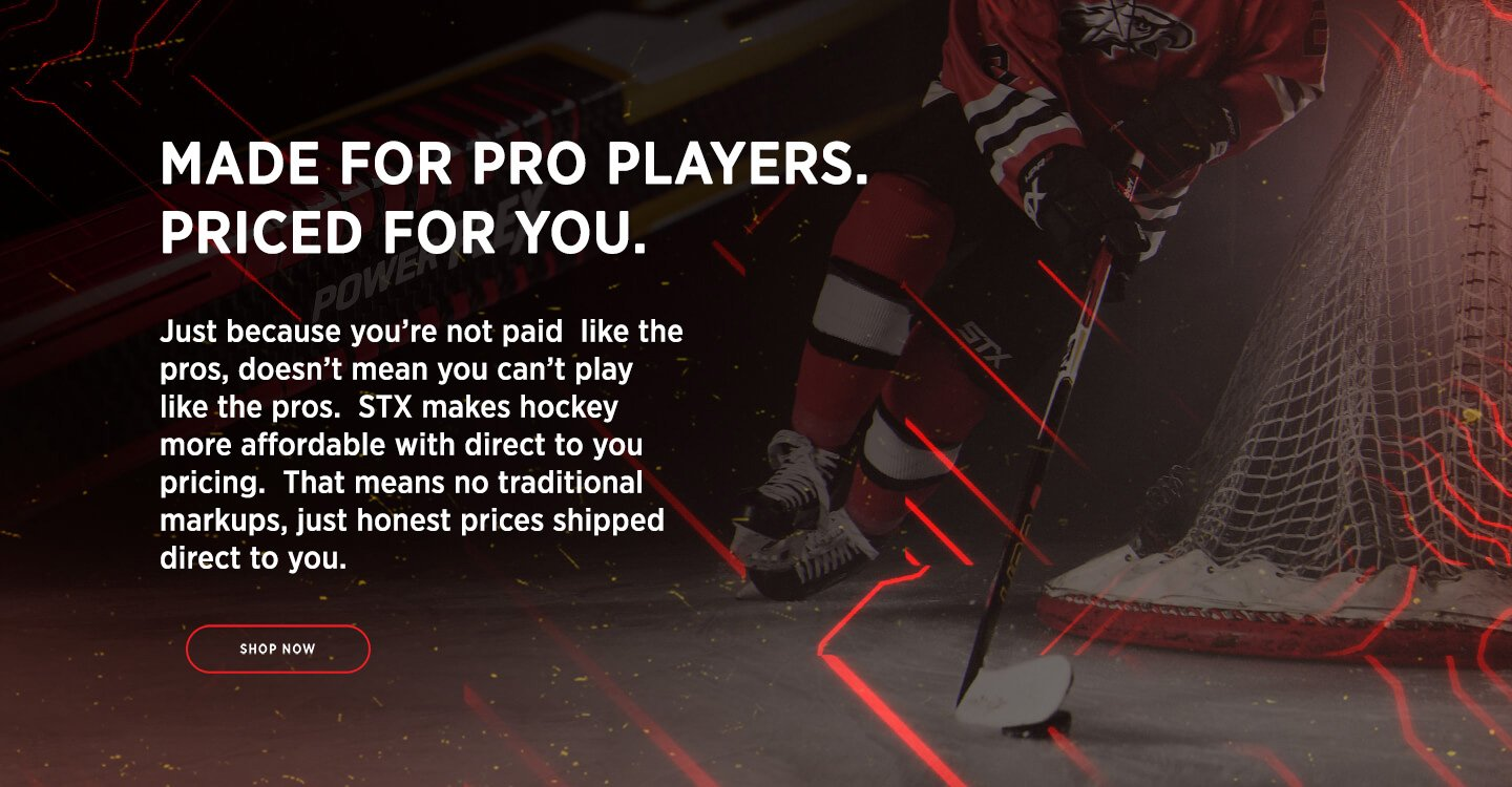 Made for Pro Players. Priced for You.