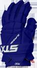 halo blue colorway of the surgeon 700 stx mens ice hockey glove