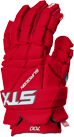 red colorway of the surgeon 700 stx mens ice hockey glove
