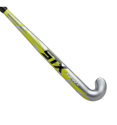 STX HPR 50 Field Hockey Stick, 33 inches, Silver and Yellow