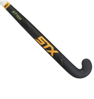 STX XT 701 Field Hockey Stick, Black Orange and Green, Outside View