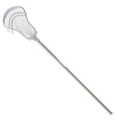 STX Stallion 300 Complete Lacrosse Stick White Front