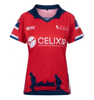 H4H Ladies Top Red Front
