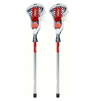 STX Lacrosse FiddleSTX Classic With Plastic Handle And Ball 2-Pack