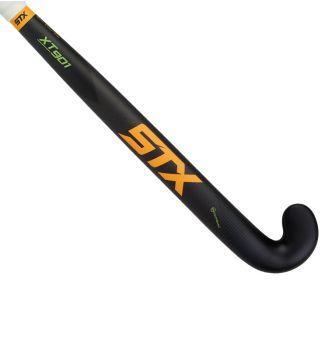STX XT 901 Field Hockey Stick, Black Orange and Green, Outside View