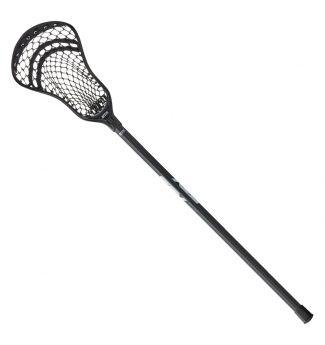 STX Stallion 300 Complete Lacrosse Stick Junior Size Black Front